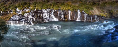 #8 - Hraunfossar, Iceland September 2012