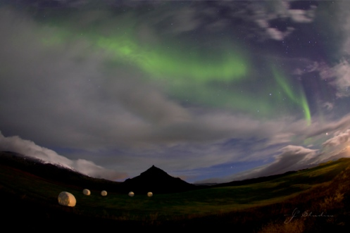 Print - Lights Above Iceland